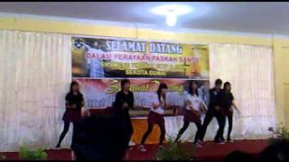 rohani dance SMA SANTO TARCISIUS DUMAI