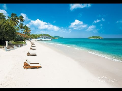 Sandals Halcyon Beach St Lucia Photos GMS Vacations