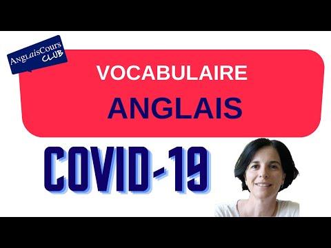 Coronavirus - Le vocabulaire anglais