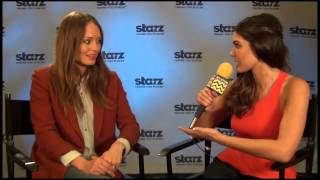 Laura Haddock from Starz