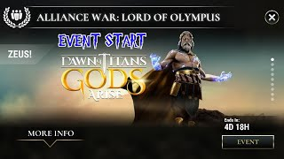 Dawn of Titans- Lord of Olympus- Event Start