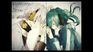 Nightcore - Stone Walls ♦  We the Kings
