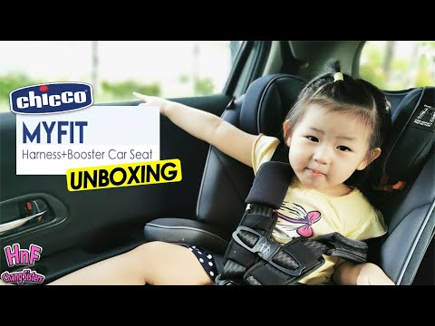 CHICCO MyFit Harness+Booster Car Seat   UNBOXING
