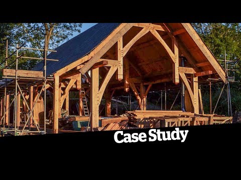 Download Youtube: An amazing timber frame, straw bale self build for £67k