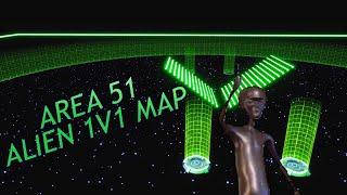 Area 51 Alien Fortnite 1v1 Map + Code | Neon 1v1 Map