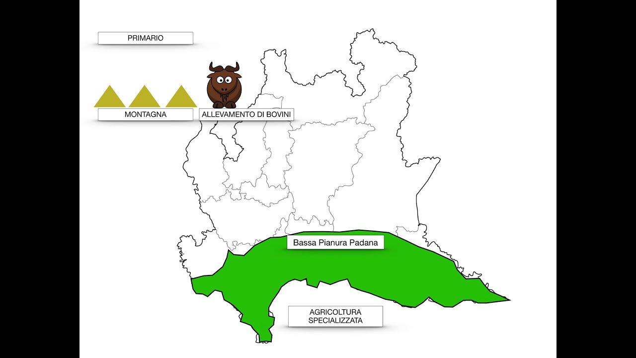 Province Lombardia Cartina.Geografia Lombardia Youtube