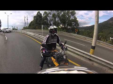 Yamaha XT 660z Ténéré. GoPro Hero 3 Silver Edition. Medellin Colombia.