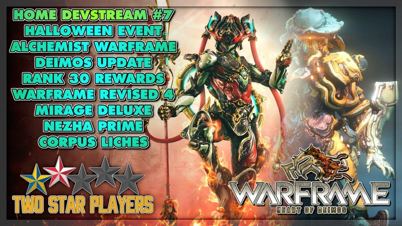 Halloween Devstream 2020 Nezha Prime, Halloween Event, Deimos Update and more!   Warframe
