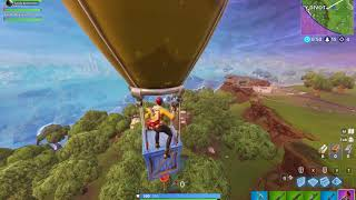 Fortnite Grapple Air drop glitch