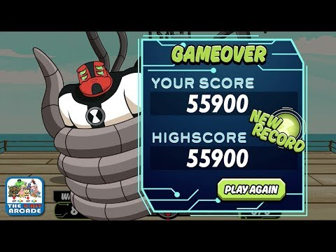 Ben 10: No Arm Done - Four Arms will be Sad if you Beat My Score (Cartoon Network Games) thumbnail