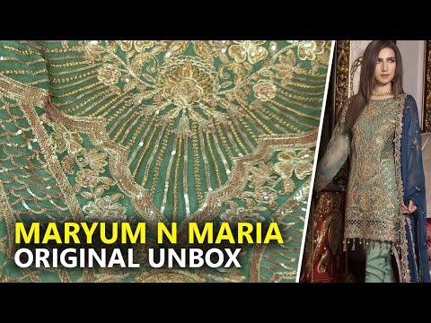 7ed10ae662 ⭐ Maryum N Maria Freesia 2019 - Unbox Star Dust FMM-601 - Sara Clothes Try  on Hual - YouTube