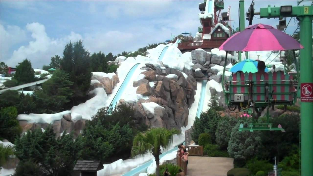 Blizzard Beach Chair Lift Pov