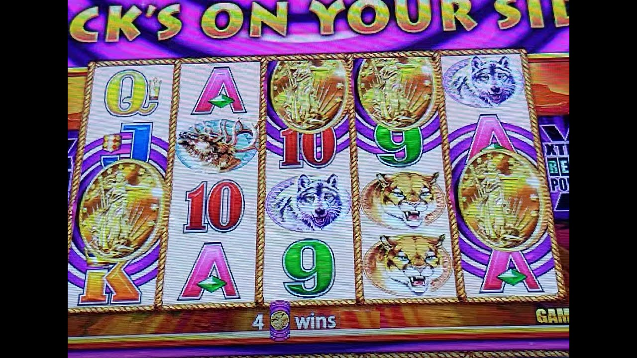 Winning On 4 Coins Super Game!! Buffalo Gold Tall Fortunes
