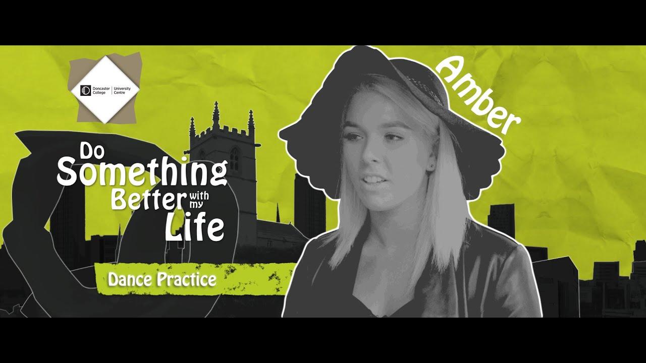 Amber - University Centre Doncaster - Dance Practice