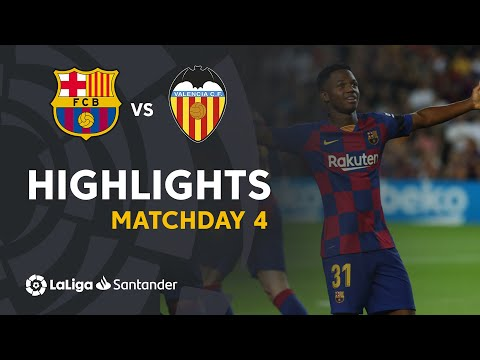 Highlights FC Barcelona vs Valencia CF (5-2)