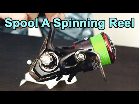 How To Spool A Spinning Reel With Braid (Avoid These Common Mistakes)