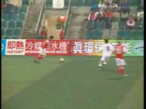 Jaimes McKee 2 goals against South China