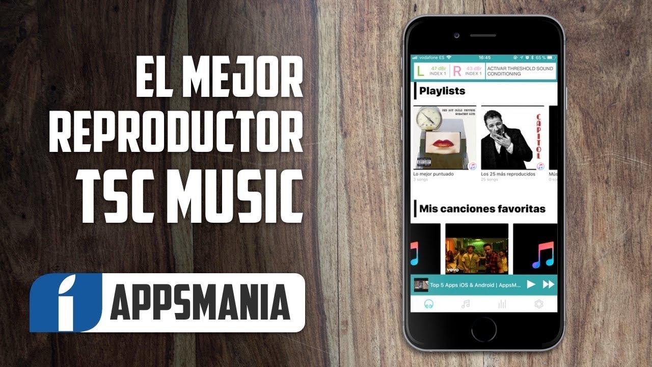 0530fb1fbd9 El mejor reproductor de música para iPhone + iPad | TSC Music App ...