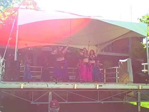 Bleeding Heart Bellydance and Troupe Manasa At the Whole Earth Festival 2014