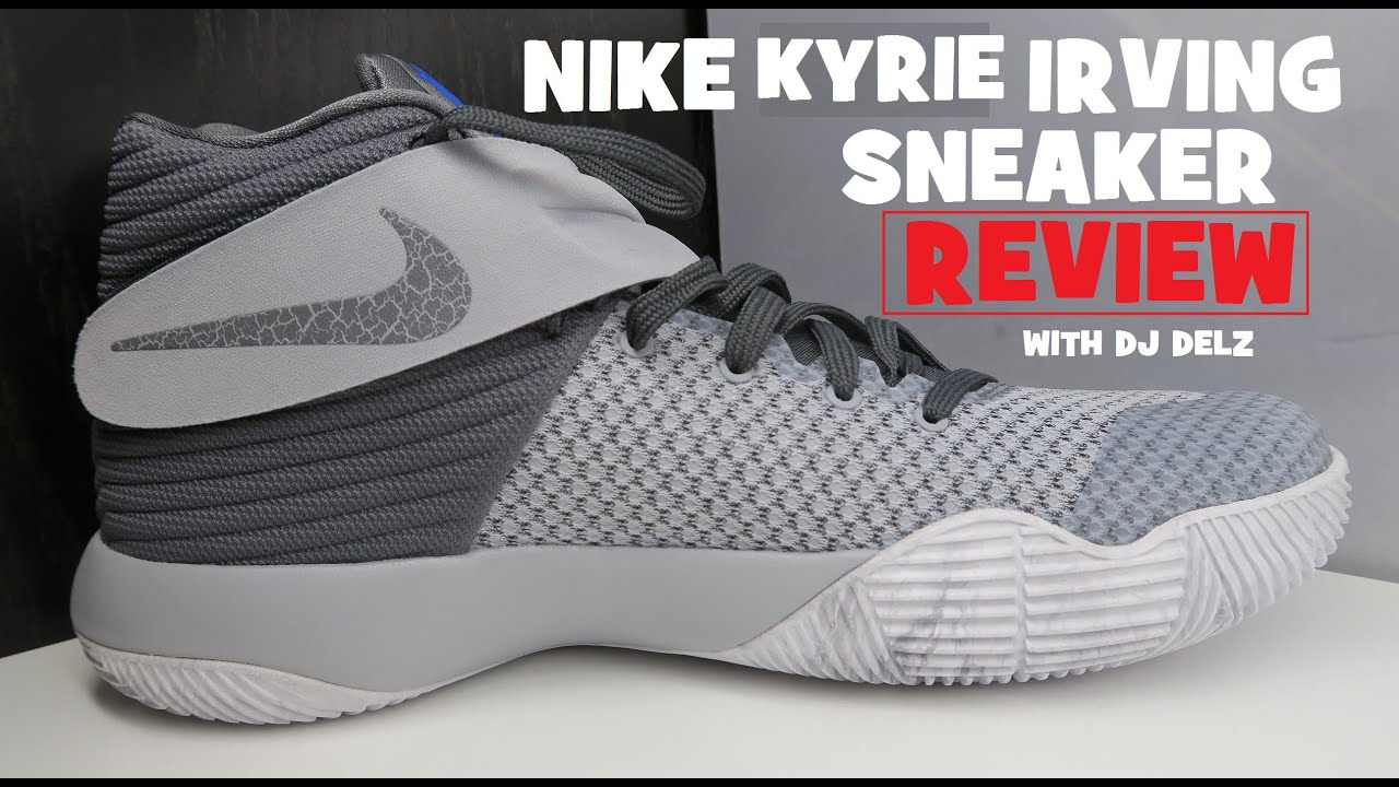 482bb9d6d88 Nike Kyrie 2 Omega Wolf Grey Sneaker Review + Sizing - YouTube