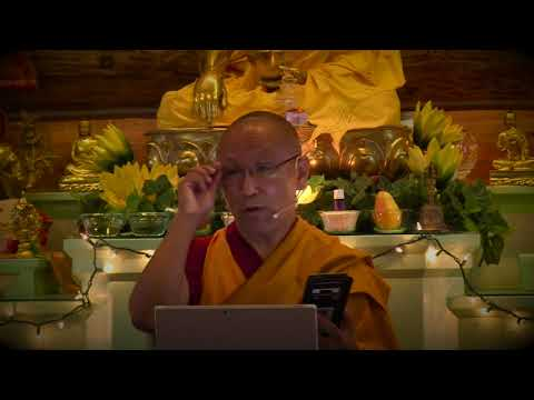 27 Madhyamaka Through Metaphors with Geshe Dadul Namgyal: Realizing the Madhyamaka View 09-19-17