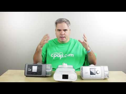 What's The Difference Between A CPAP, APAP, And BiPAP Machine?