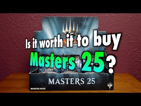 MTG - Is it worth it to buy Masters 25 for Magic: The Gathering?