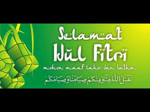 MERDU MENGGEMA TAKBIRAN 2018Kata kata Pilihan Ucapan Selamat Idul Fitri