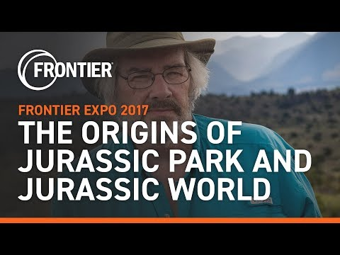 """The Origins of Jurassic Park and Jurassic World"" with Jack Horner at Frontier Expo 2017"