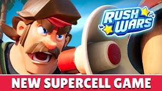 RUSH WARS | NEW SUPERCELL GAME (iOS & Android)