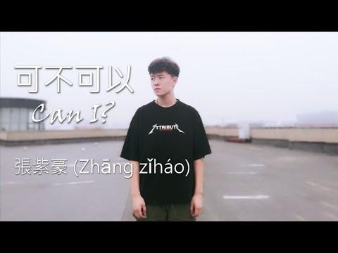 張紫豪 Zhāng ZǐHáo - 可不可以 Can I?【滚动歌词+拼音】【Rolling Lyrics+Pinyin】