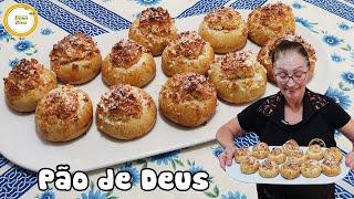 Pão de Deus ou Pão Português para Tomar no Café