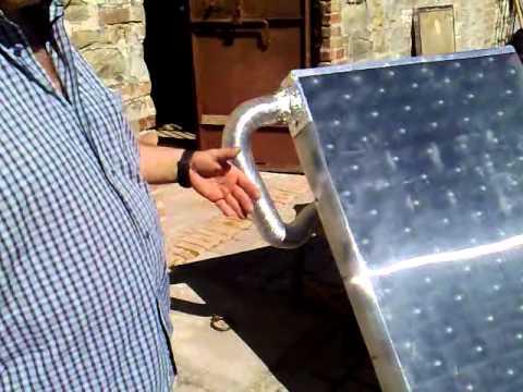 Pannello Solare Ad Aria Fai Da Te.Pannello Solare Ad Aria Autocostruito 2 4