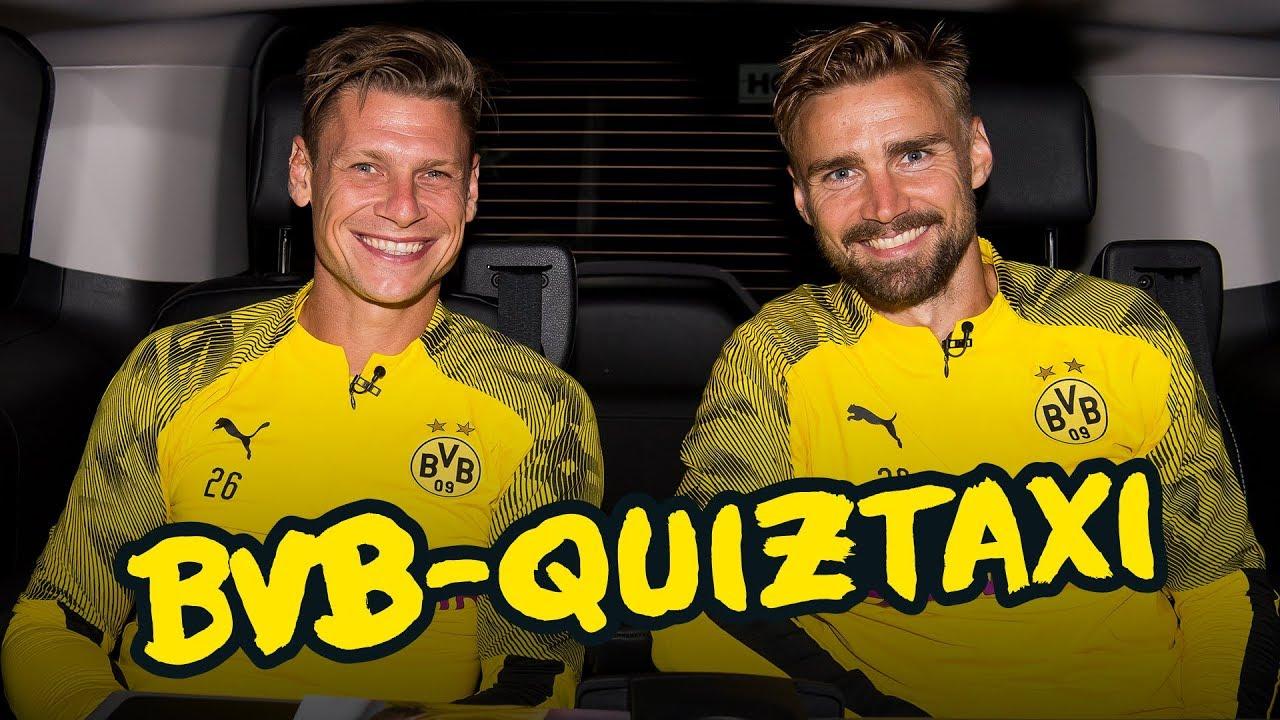 BVB-Quiztaxi in Bad Ragaz - Teil 2: Bleiben Marco Reus & Mo Dahoud in Führung?