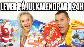 LEVER PÅ JULKALENDRAR I 24H