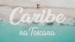 ☀️ Um CARIBE na TOSCANA | Praia na Itália | VLOG 16