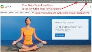 Daily Deals Magento2 Extension