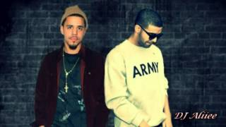 Drake feat JCole   Dreams NEW 2013   DJ Aliiee