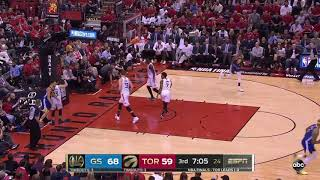 Golden State Warriors vs Toronto Raptors 2019 NBA Finals Game 2 Highlights