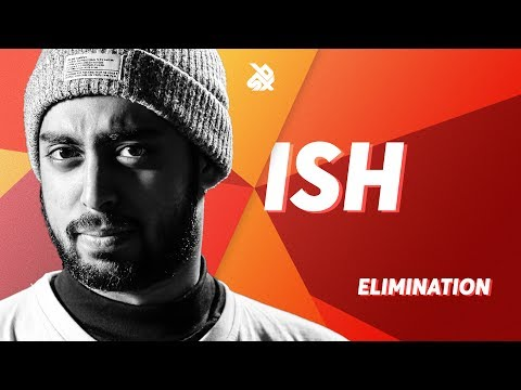 ISH  |  Grand Beatbox SHOWCASE Battle 2018  |  Elimination