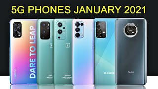 Best 5G Mobile Phones to Buy in India in January 2021 | 5G Phones Under 15000 in 2021 🔥