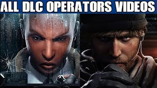 Rainbow Six Siege All DLC Operator videos Including Clash & Maverick Year 3 2 1 R6 Trailers