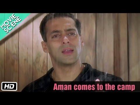 Aman Comes To The Camp - Movie Scene - Kuch Kuch Hota Hai - Salman Khan, Sharukh Khan, Kajol