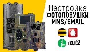 Настройка фотоловушки Филин MMS/3G, Suntek HC (любая модель)