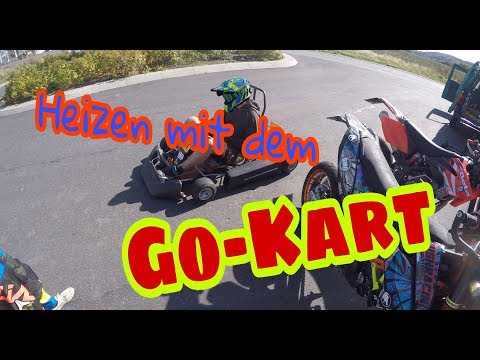 Go-Kart FUN an der Meile // JokerMotoVlogs