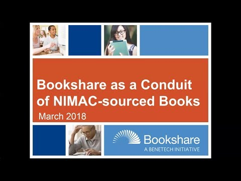 Bookshare for AEM State Contacts and NIMAC Coordinators