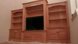 Entertainment Center By A-1 Trim