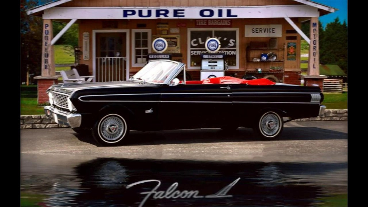 Raven Black 1964 Falcon Futura Convertible Slide Show Youtube Ford