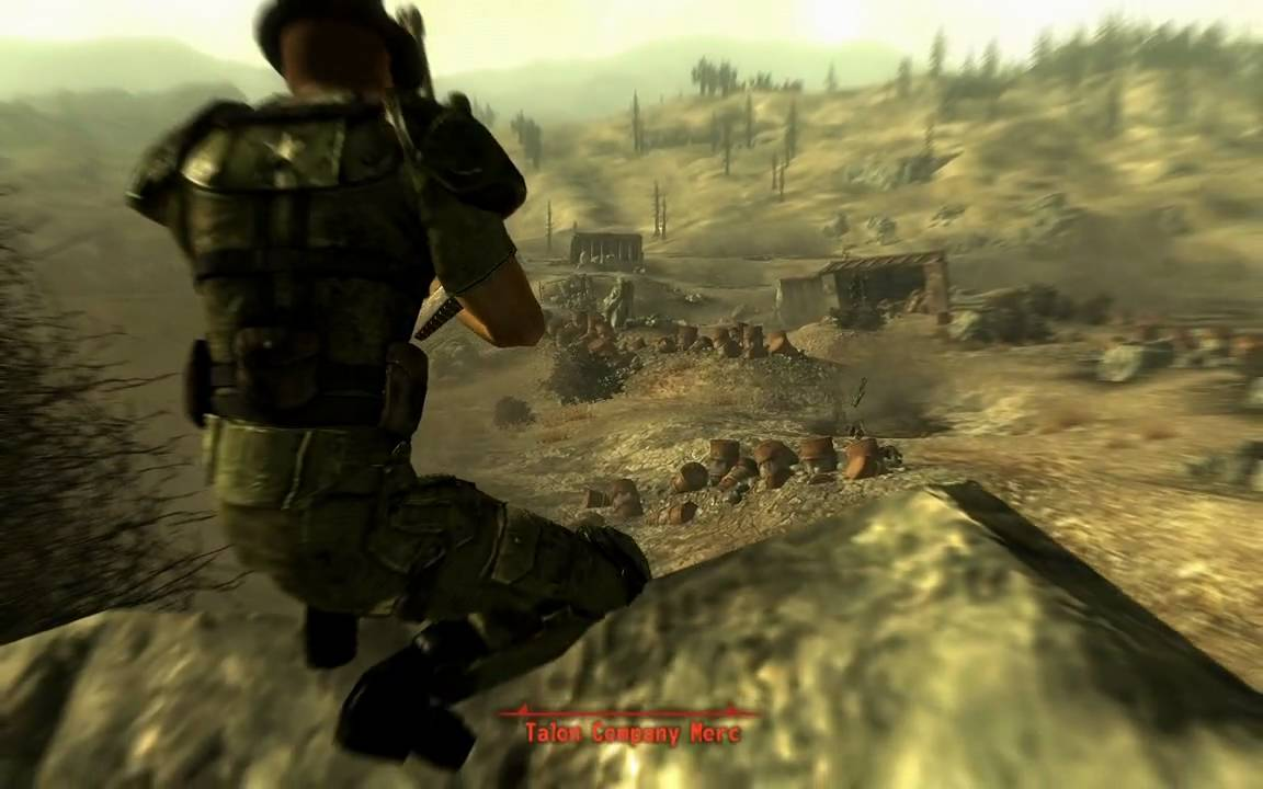 Fallout 3 Tips & Tricks: Sniper action: 3 Talon mercs - YouTube