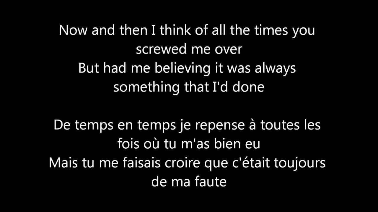 Traduction Gotye Somebody That I Used To Know lyrics - YouTube